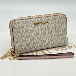 Michael Kors Flat MF Phone Case Wallet